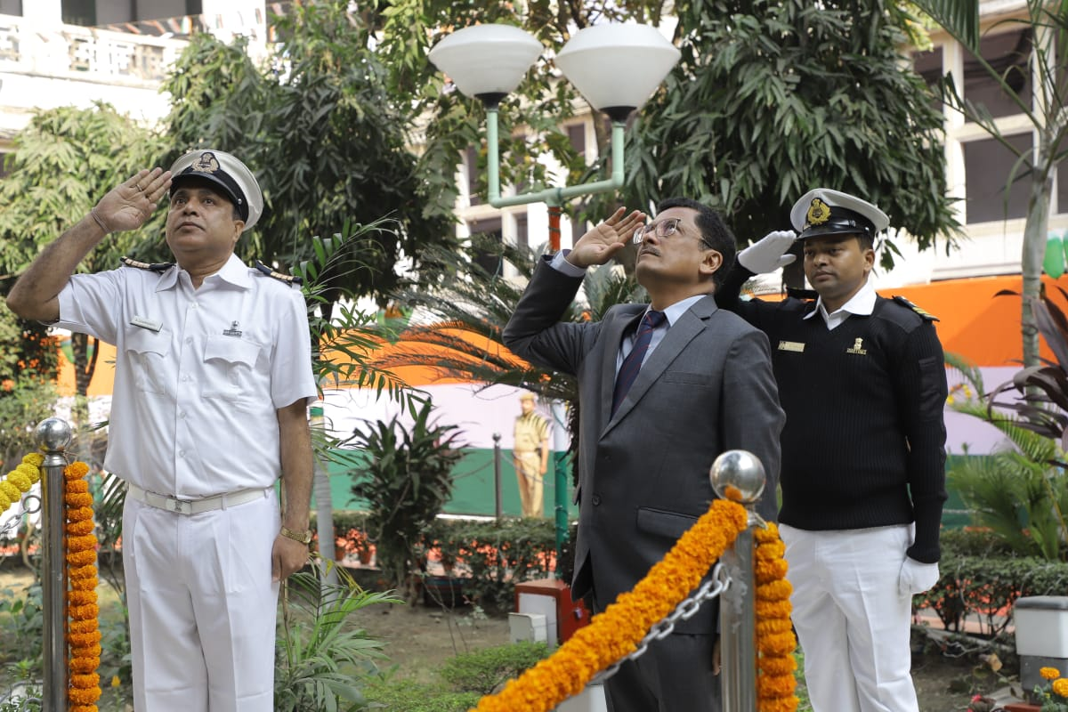 70th Republic Day celebration at Custom House Kolkata 2019